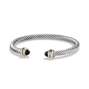 David Yurman Classic Bracelet with End Stone